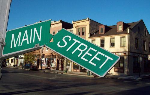 main street economy wall street