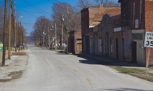 main street  street  small town