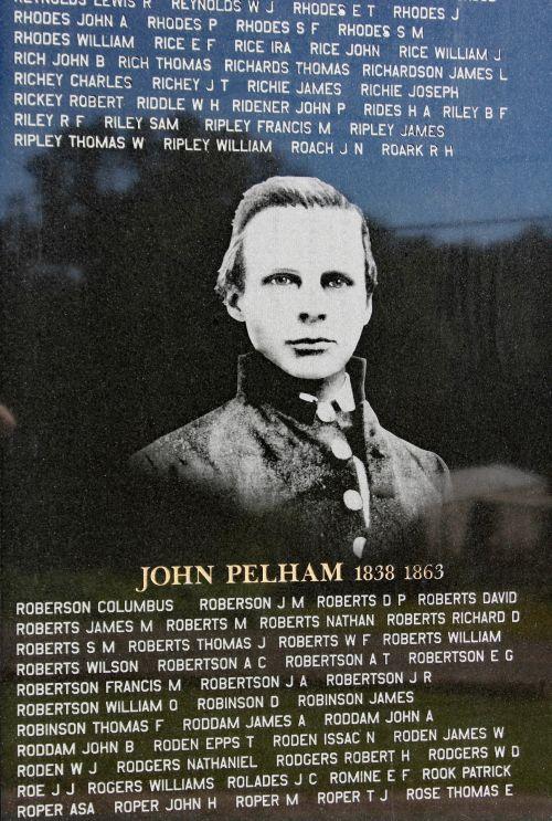 Maj. John Pelham Memorial