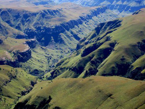 Majestic View Of Drakensberg, Sa