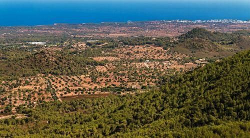 majorca sanctuary of sant salvador san salvador majorca