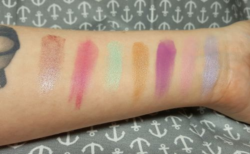 makeup eyeshadow pastels