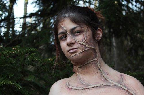 makeup  monster  forest