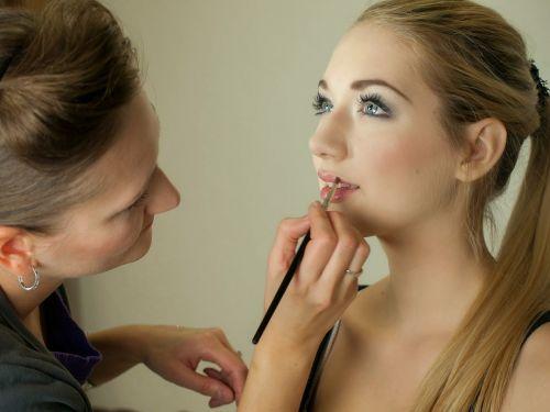 makeup artist makeup portrait