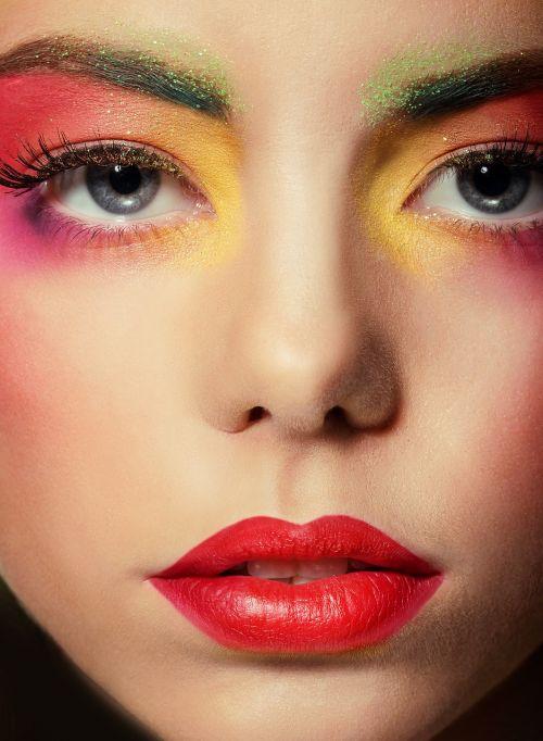 makeup woman person