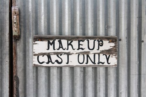makeup theater backstage stage door
