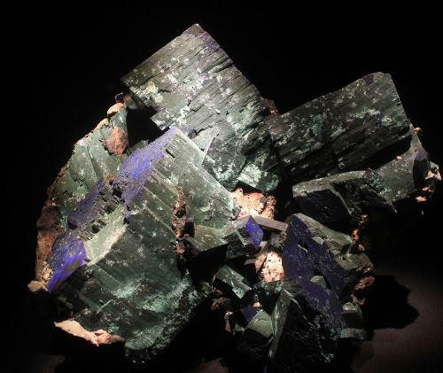 malachite azurite mineral