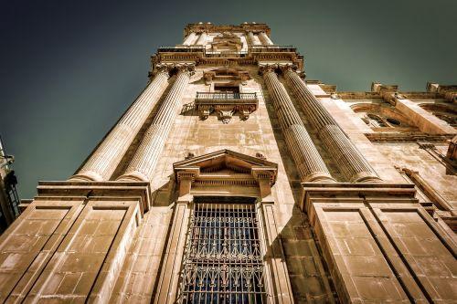 malaga cathedral architecture