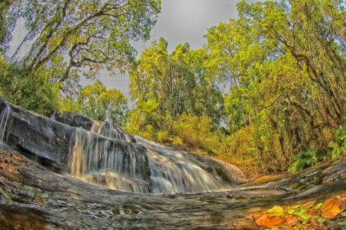 malawi landscape stream