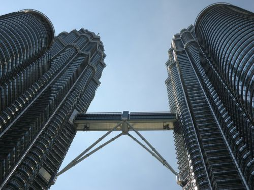 malaysia double tower asian