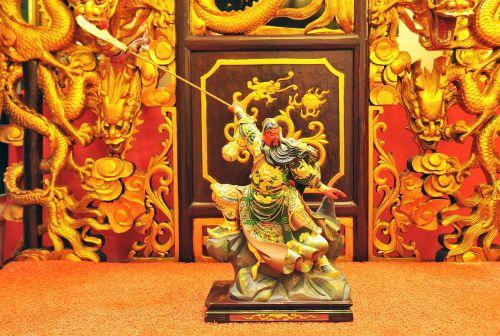 malaysia sculpture guan gong