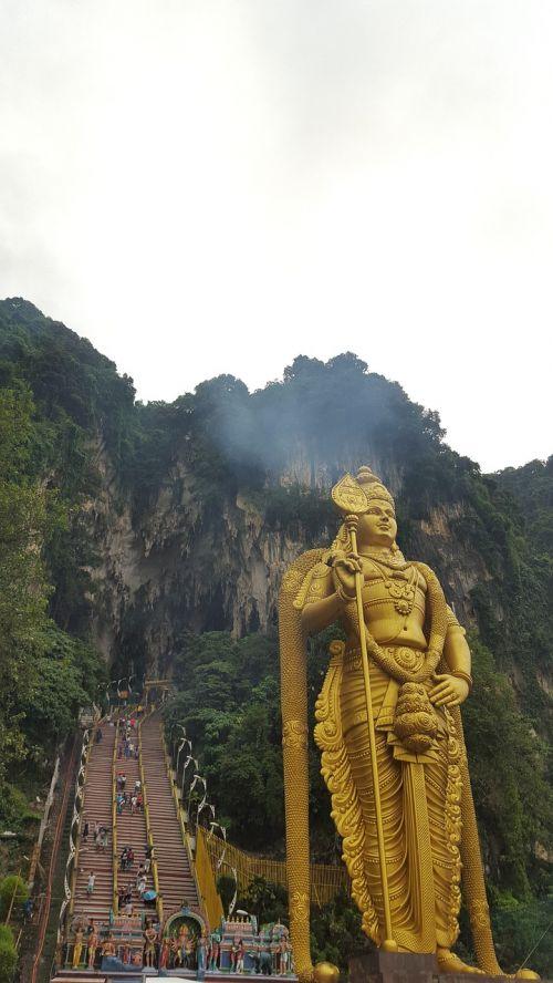 malaysia kuala lumpur batu cave