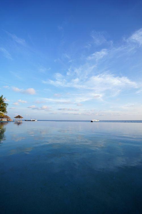 maldives sea sky