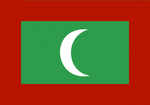maldives flag country