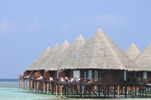 maldives bungalow romantic