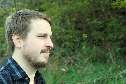 male face beard
