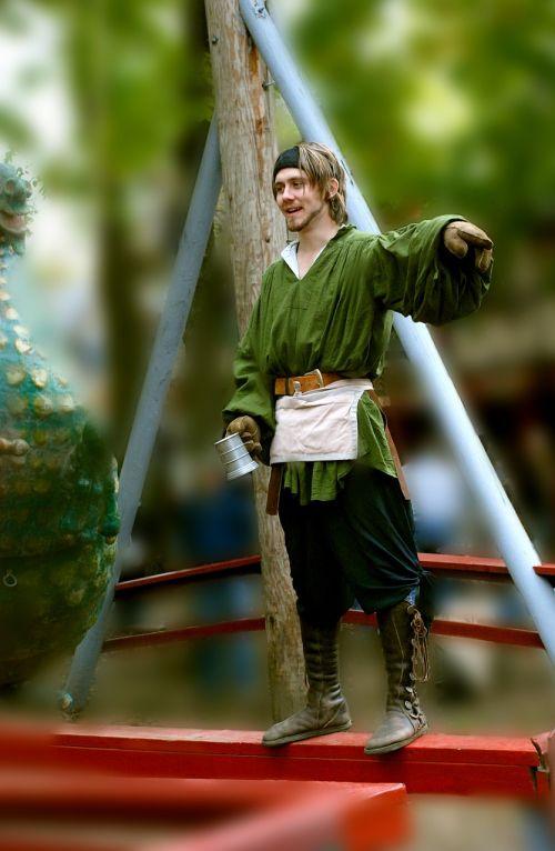 Patinas,pardavėjas,pilnas,pardavėjas,suaugęs,viduramžių,renesansas,stovintis,veiksmas
