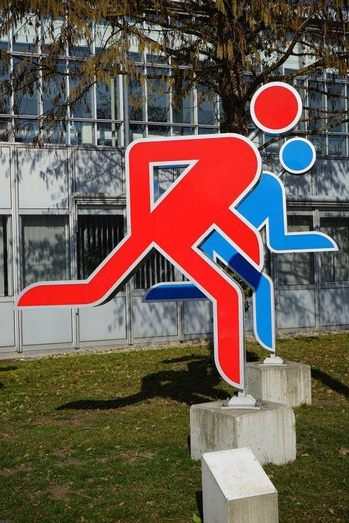 males jog run