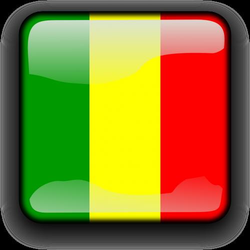 mali flag country