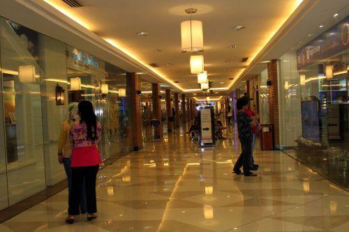 Mall Hallway