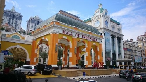mall of indonesia moi shopping mall