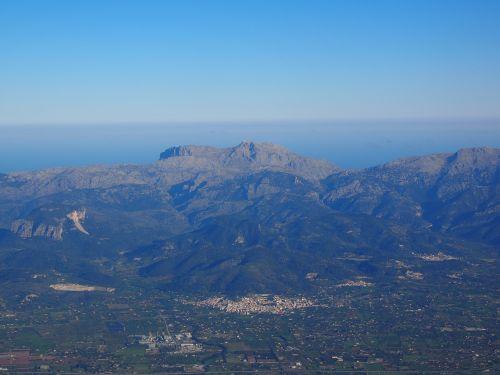 mallorca aerial view aerial photographs
