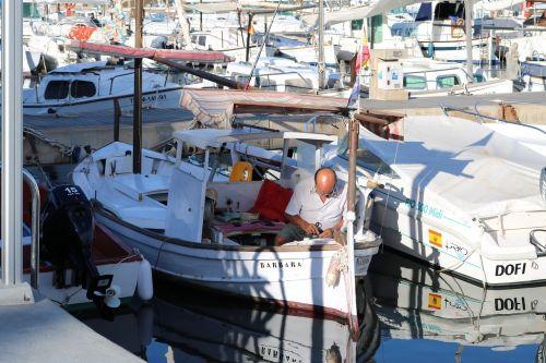mallorca fischer fishing boat