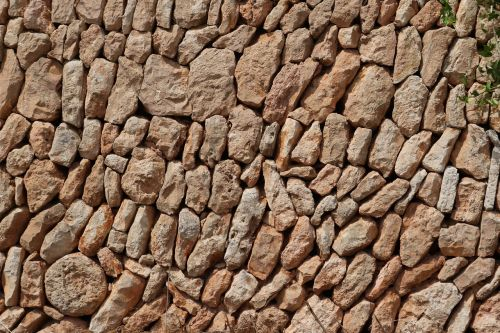 mallorca stone wall background