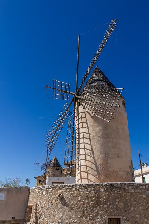 mallorca  mill  windmill