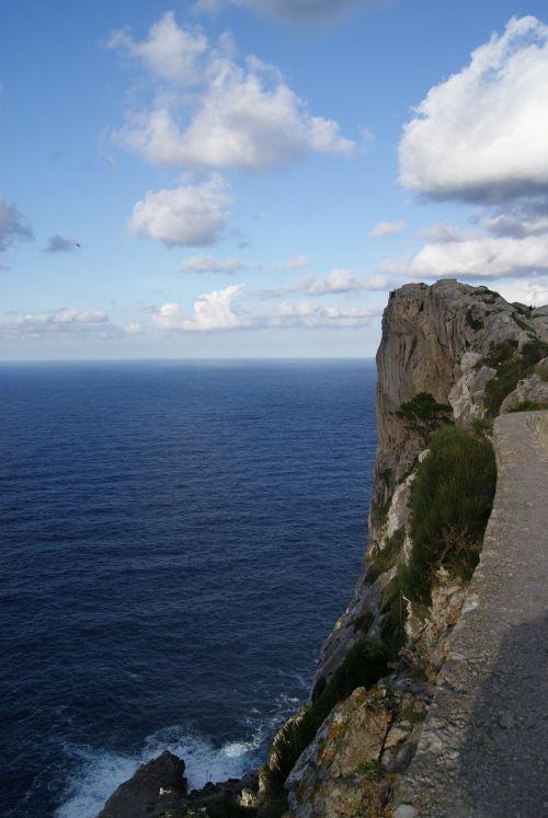 mallorca coast sea