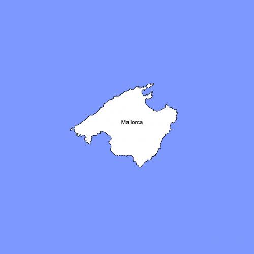 mallorca map land