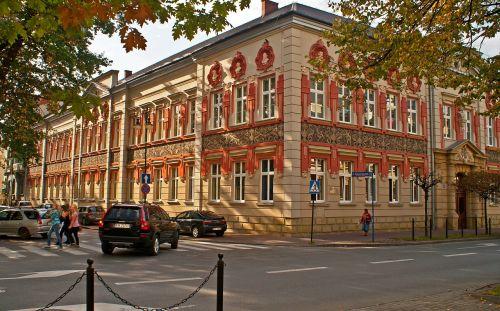 malopolska architecture the school building
