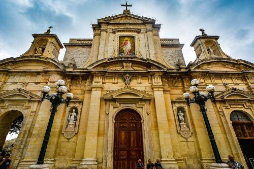 malta mdina cathedral