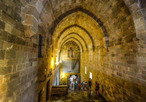 malta castle medieval