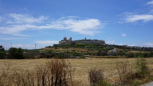 malta mdina silent city