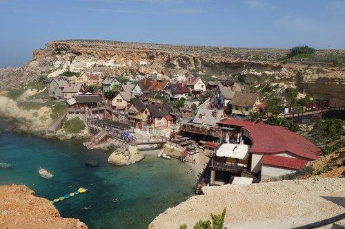 malta  village  port