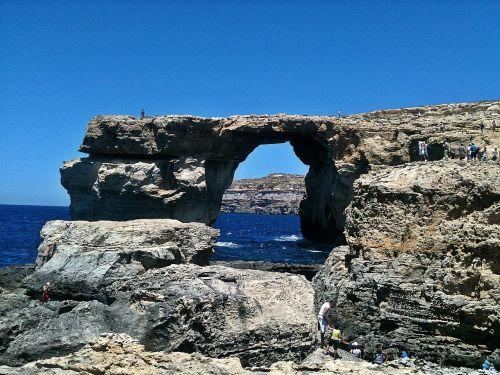 malta gozo azure window