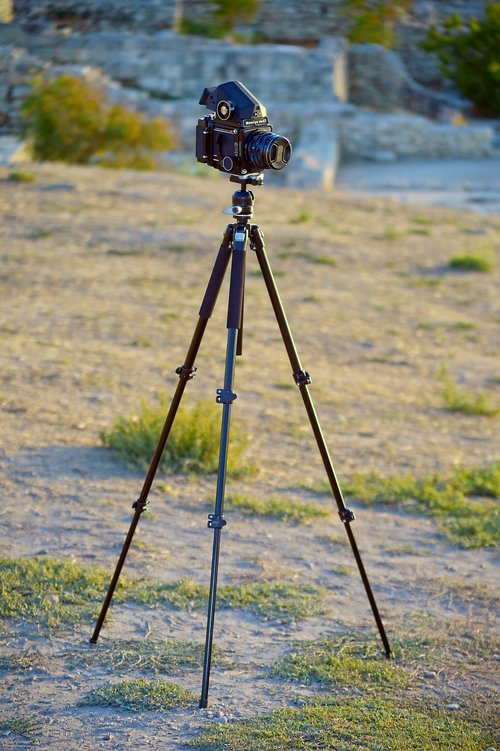 mamiya  camera  tripod