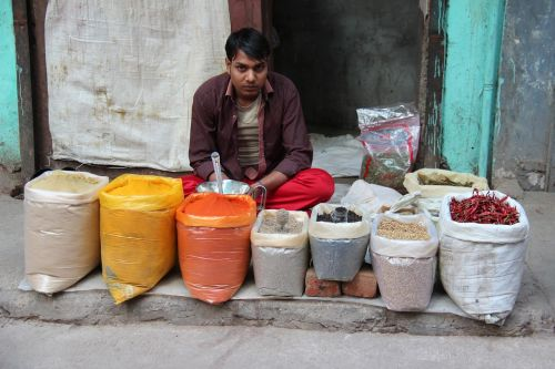 man seller indians