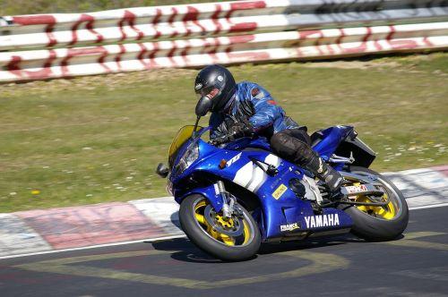 man angle motorcycle