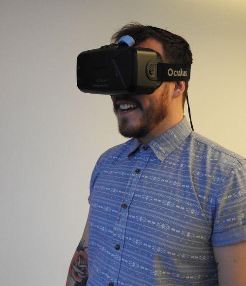 man vr virtual reality
