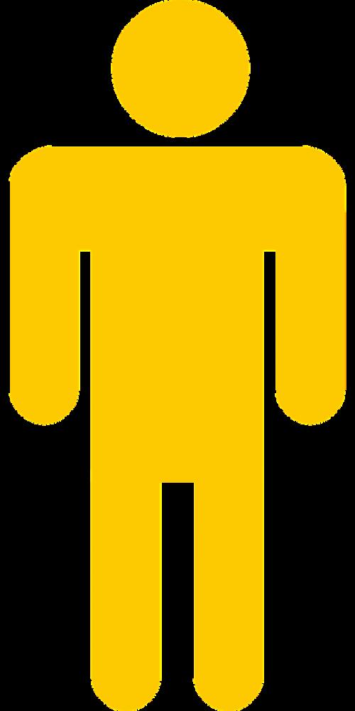 man toilet restroom