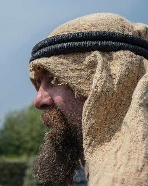 man arab portrait