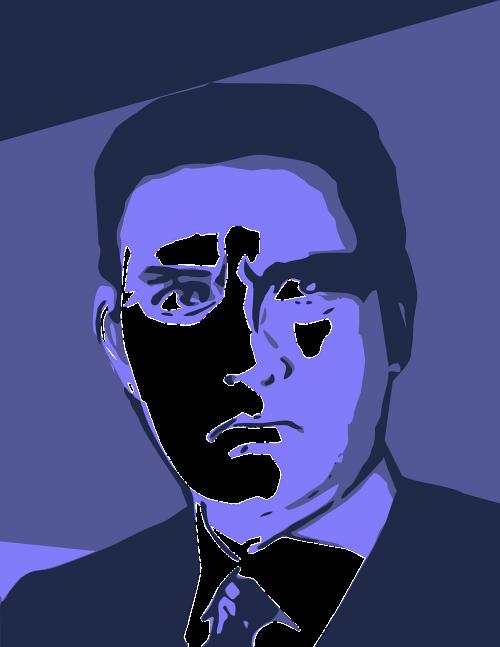 man person face