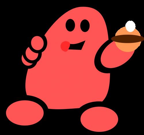 man red cartoon