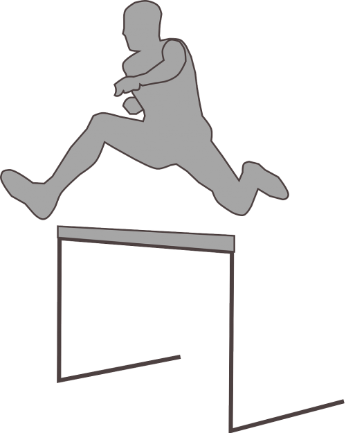 man runner jumper