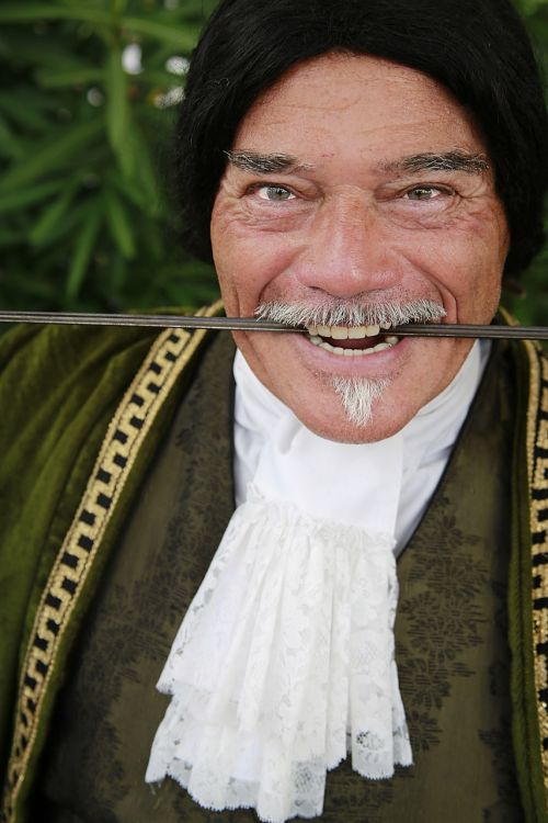 man theatre costume