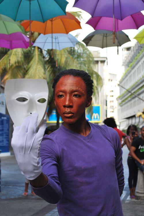 man mask performance