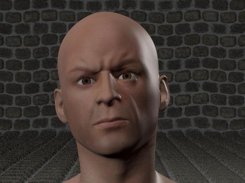 man rage face