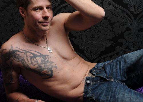 man tattooed tattooed man